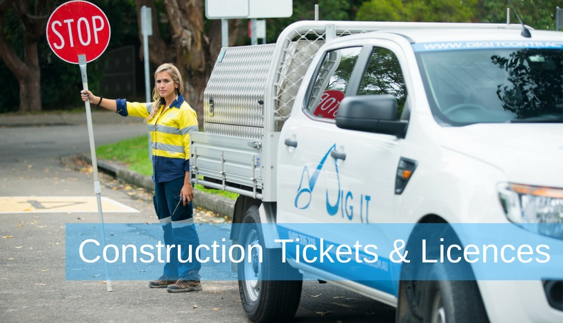 Construction Tickets & Licences