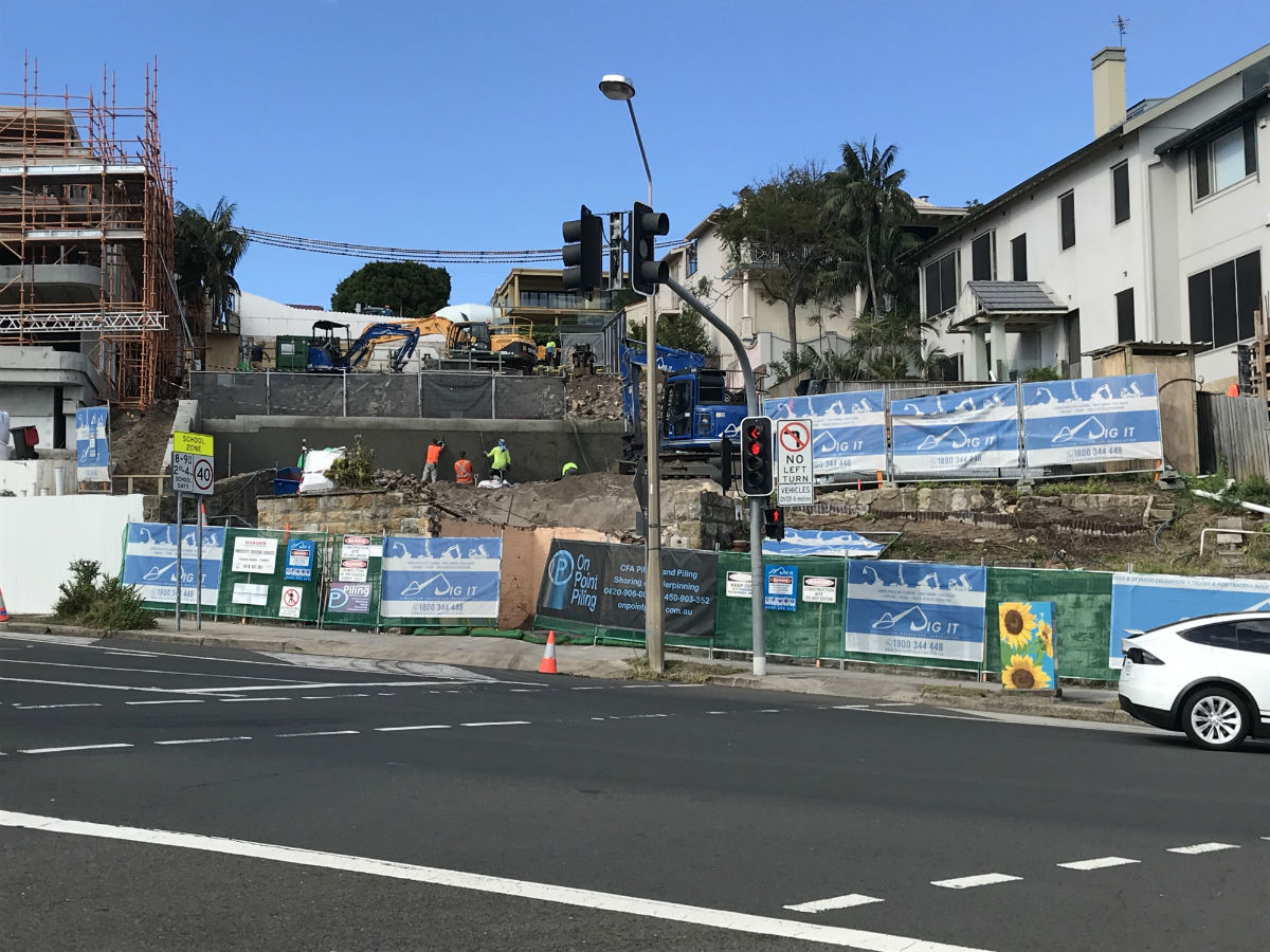 New South Head Road, Rose Bay